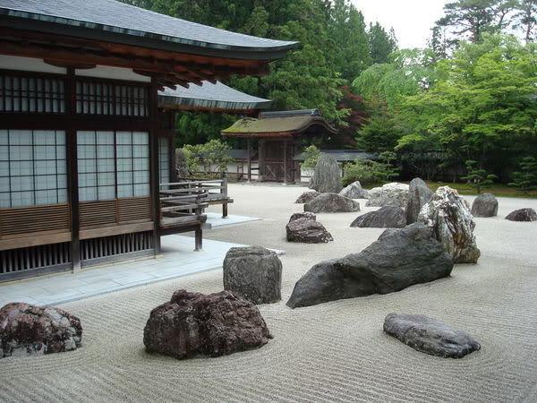 Сад камней. Япония