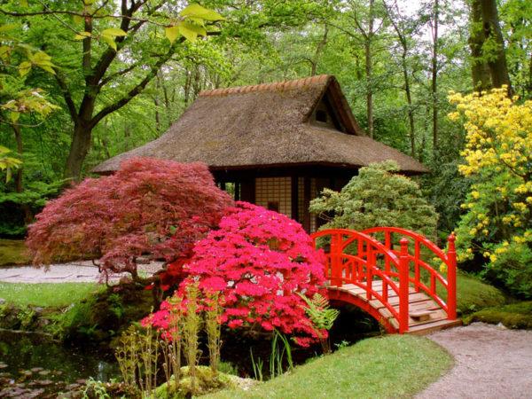 Японский сад в Голландии